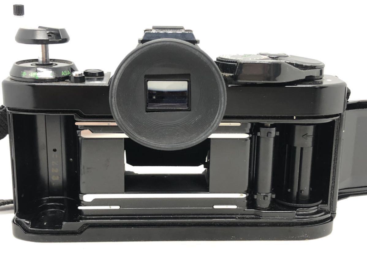 2001Snaks 1円 Canon AE-1 PROGRAM キャノン 一眼レフ フィルムカメラ Topman 1:3.5-4.5 35-70mm 1:4.5 80-200mm ボディ レンズ_画像7