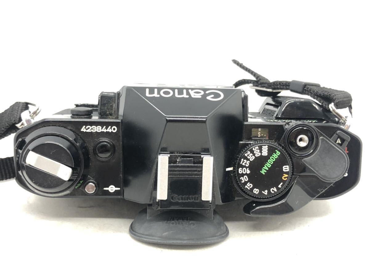 2001Snaks 1円 Canon AE-1 PROGRAM キャノン 一眼レフ フィルムカメラ Topman 1:3.5-4.5 35-70mm 1:4.5 80-200mm ボディ レンズ_画像4