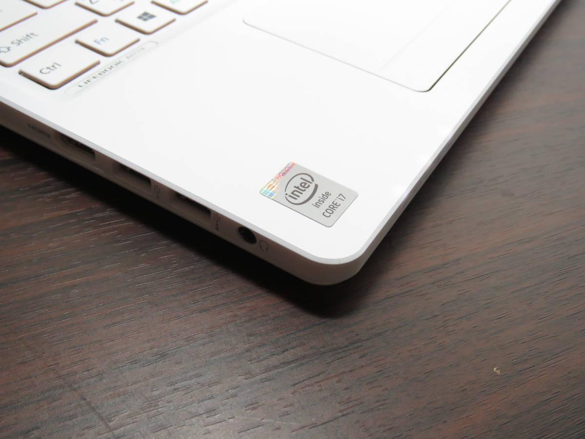 ★美品★ 限定1台限り FMV LIFEBOOK AH77/R 最新Win10 爆速Core i7-4712HQ 8GB 爆速SSD256GB 高解像度 Office搭載 タッチパネル付_画像2