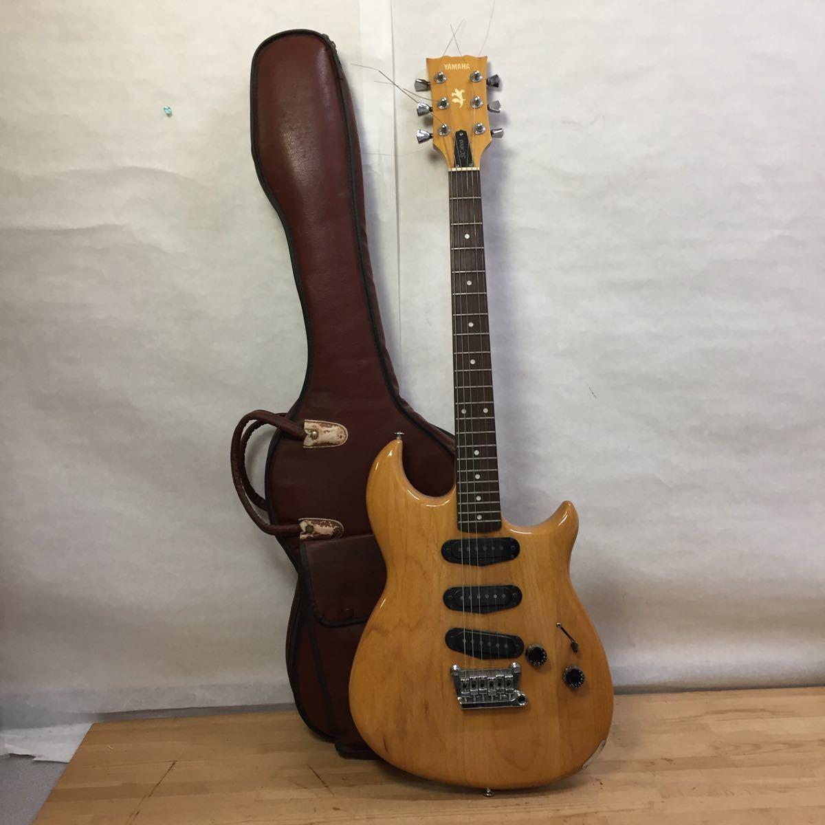 B4897 YAMAHA エレキギター SC3000 ソフトケース付 弦楽器 動作未確認 現状 同梱NG