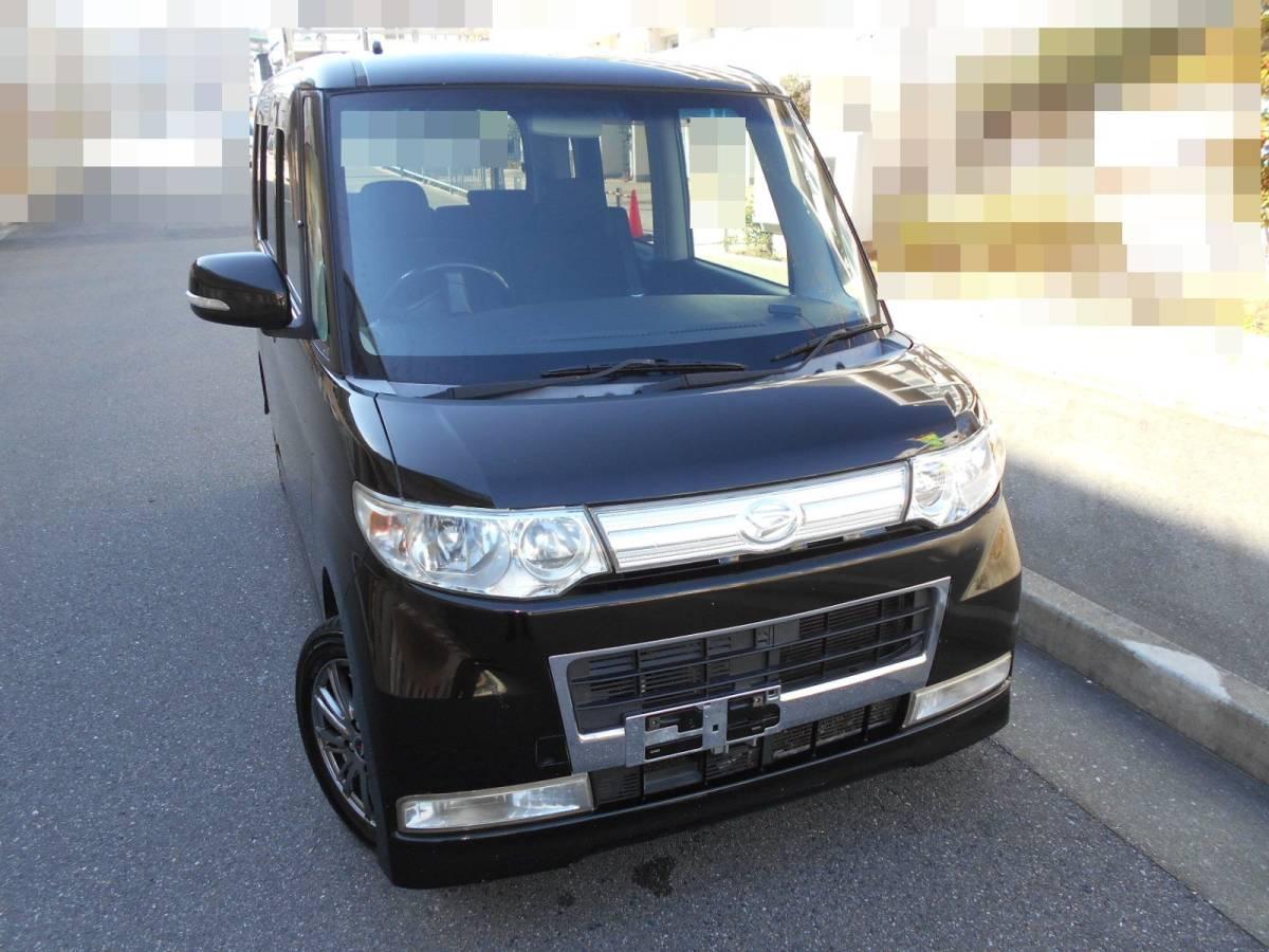 「H21 タント カスタムVセレクション 4WD アルミ HDDナビ ETC キーフリー 検受け渡し」の画像1