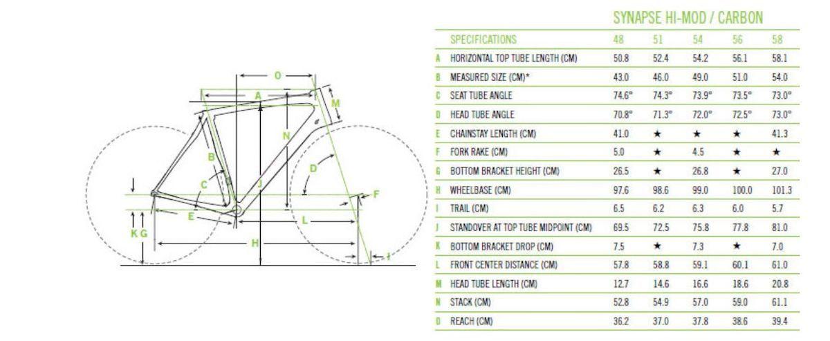 【美品】Cannondale Synapse Hi-Mod フレームセット SiSL2_画像10