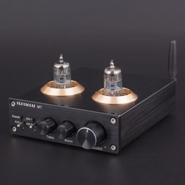最新!高音質!真空管デジタルプリアンプ M7 bluetooth5.0搭載モデル!Bluetoothオーディオレシーバー HIFI USB _画像2