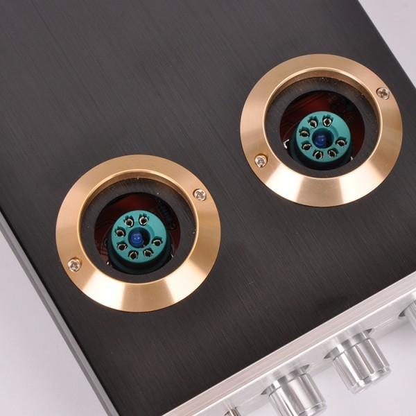 最新!高音質!真空管デジタルプリアンプ M7 bluetooth5.0搭載モデル!Bluetoothオーディオレシーバー HIFI USB _画像4