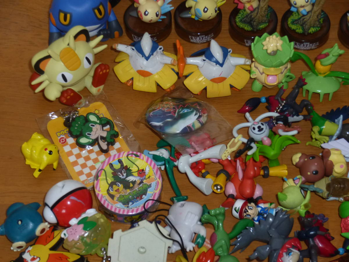 TOMY 海洋堂 ポケモンバトルフィギュア ポケモンフィギュアミュージアム ボトルキャップ 他 ジャンク品 大量_画像4