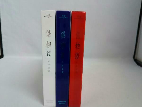 【※※※】[全3巻セット]傷物語 Ⅰ~Ⅲ(完全生産限定版)(Blu-ray Disc)_画像2