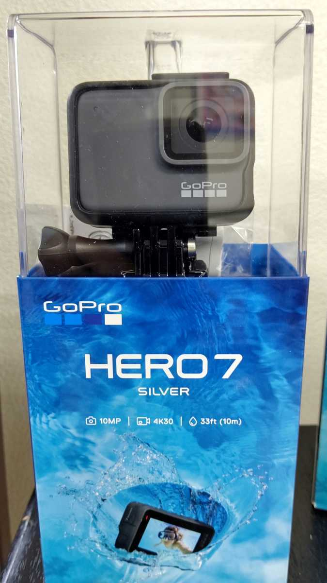 GoPro HERO7 Silver その2 7時間だけ使用