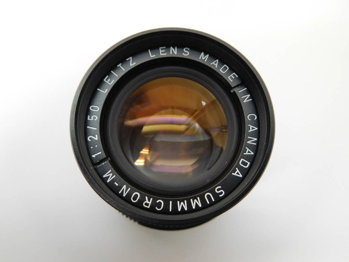 LEICA ライカ カナダ ズミクロン SUMMICRON-M 1:2/50 LEITZ LENS MADE IN CANADA 50mm