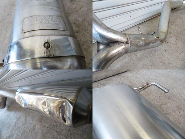 フジツボ FGK BP5 レガシィ ワゴン 2.0 GT EJ20 後期 Legalis Super R レガリススーパーR ステンレス マフラー 中間パイプSET 03S10556_ガリ傷 凹み