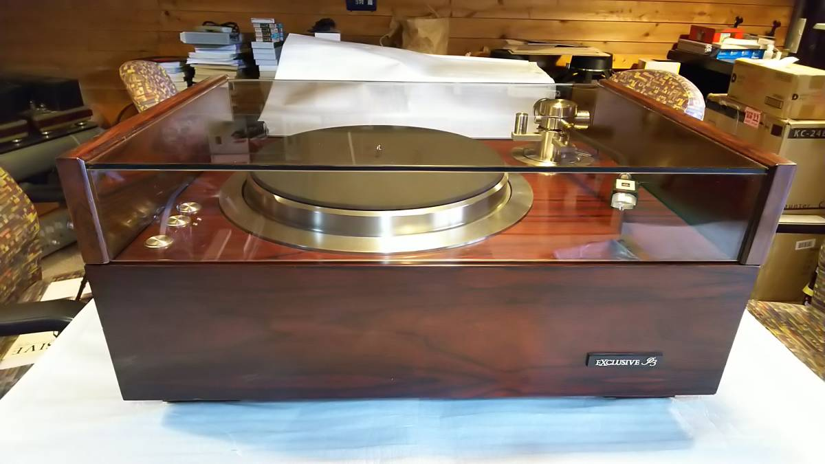 Exclusive エクスクルーシヴ P-3 レコードプレーヤー