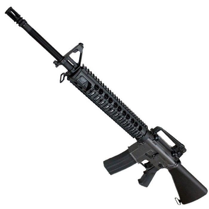 最高傑作CYMA M16A4 M5RAS フルメタル 流速爆音チューン 有効射程60m飛距離70mオーバー リポ付セット