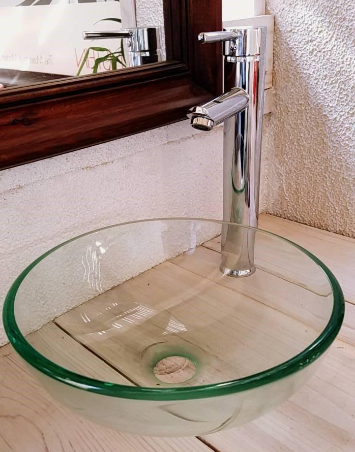 ガラス製洗面ボウル as-012-2