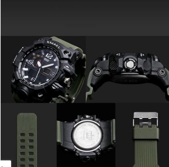 M578 SMAEL 11色スポーツウォッチ男性デジタルLED時計ミリタリーウォッチアーミーメンズ' s腕時計50M防水レロジオモントレオム_画像7