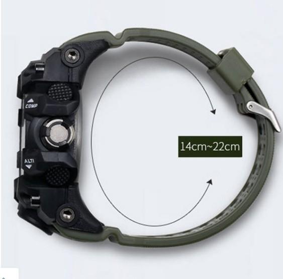 M578 SMAEL 11色スポーツウォッチ男性デジタルLED時計ミリタリーウォッチアーミーメンズ' s腕時計50M防水レロジオモントレオム_画像6