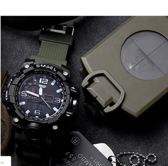 M578 SMAEL 11色スポーツウォッチ男性デジタルLED時計ミリタリーウォッチアーミーメンズ' s腕時計50M防水レロジオモントレオム_画像8