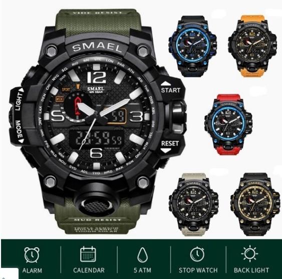M578 SMAEL 11色スポーツウォッチ男性デジタルLED時計ミリタリーウォッチアーミーメンズ' s腕時計50M防水レロジオモントレオム_画像2