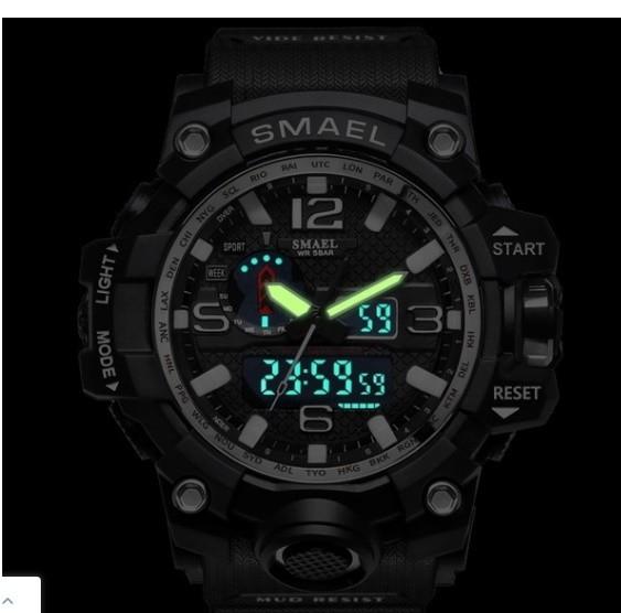 M578 SMAEL 11色スポーツウォッチ男性デジタルLED時計ミリタリーウォッチアーミーメンズ' s腕時計50M防水レロジオモントレオム_画像9