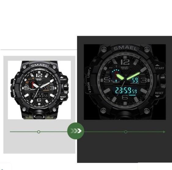 M578 SMAEL 11色スポーツウォッチ男性デジタルLED時計ミリタリーウォッチアーミーメンズ' s腕時計50M防水レロジオモントレオム_画像5