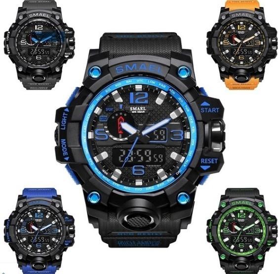 M578 SMAEL 11色スポーツウォッチ男性デジタルLED時計ミリタリーウォッチアーミーメンズ' s腕時計50M防水レロジオモントレオム_画像3