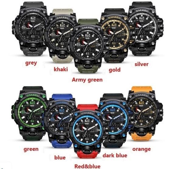 M578 SMAEL 11色スポーツウォッチ男性デジタルLED時計ミリタリーウォッチアーミーメンズ' s腕時計50M防水レロジオモントレオム_画像1