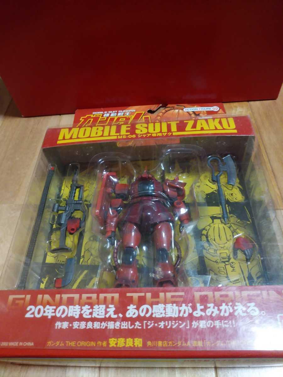 未開封 機動戦士ガンダム THE ORIGIN MOBILE SUIT ZAKU MS-06 シャア専用ザク_画像1