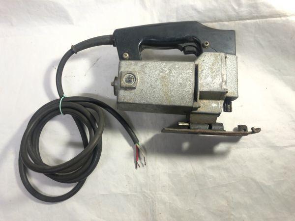 makita マキタ ジクソー 4300A / 390W / 100V / 50-60Hz 電動のこぎり 通電確認 現状品 部品取り 難あり ジャンク_画像6