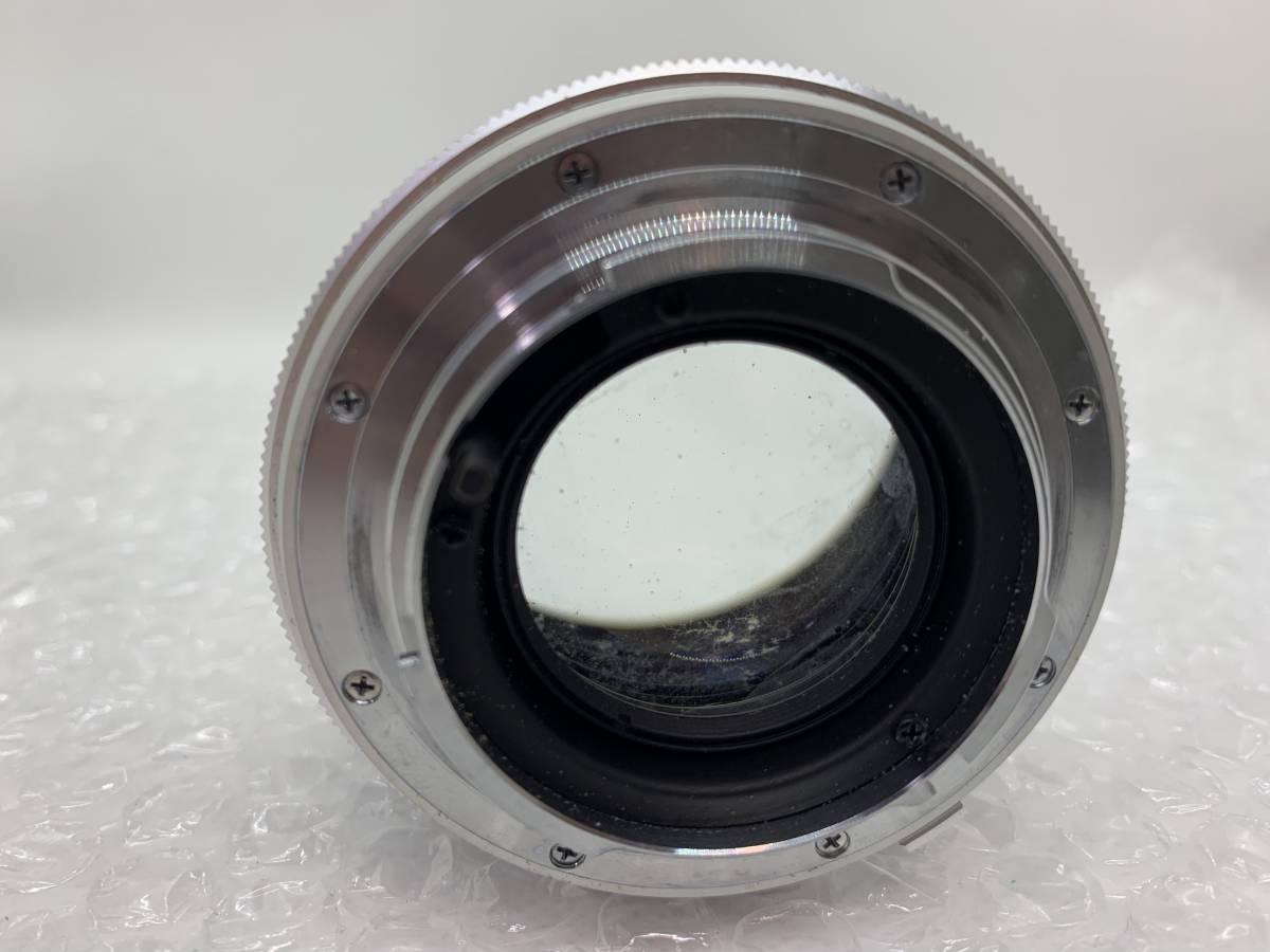 値下げ交渉可能!送料無料!MINOLTA MC ROKKOR-PF F:1.4 58mm ミノルタ 単焦点 保護フィルターおまけ付き ジャンク_画像4