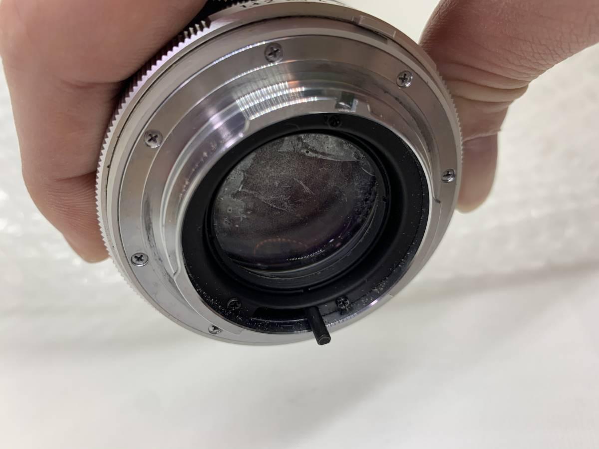 値下げ交渉可能!送料無料!MINOLTA MC ROKKOR-PF F:1.4 58mm ミノルタ 単焦点 保護フィルターおまけ付き ジャンク_画像8
