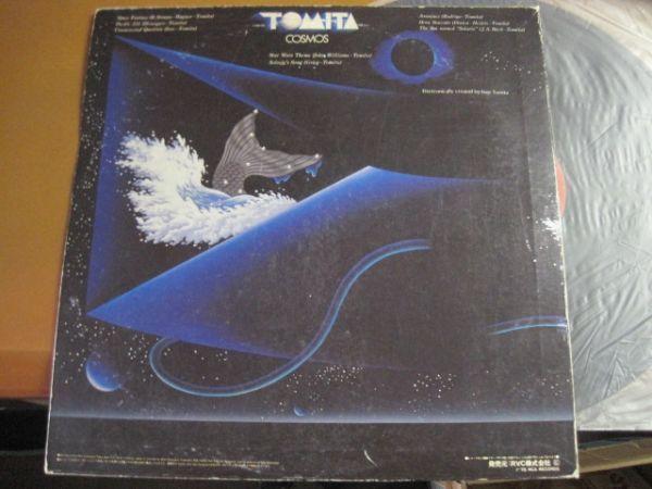冨田勲 Tomita - Cosmos /RVC-2170/国内盤LPレコード_画像2