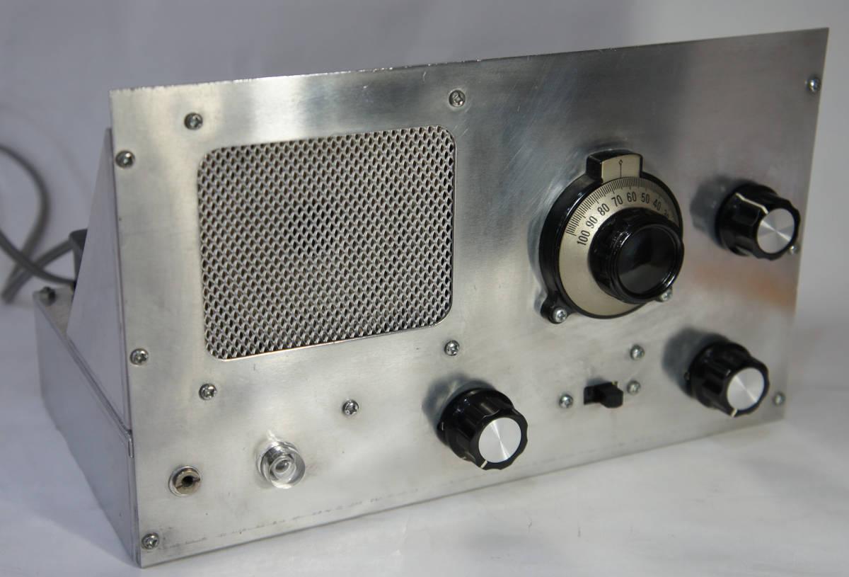 真空管ラジオキット 完成品 川島電機 RA-2 ウルトラダイン