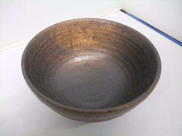 日本製 美濃焼  黒備前  飯碗   茶碗   かっこいい!!_画像2