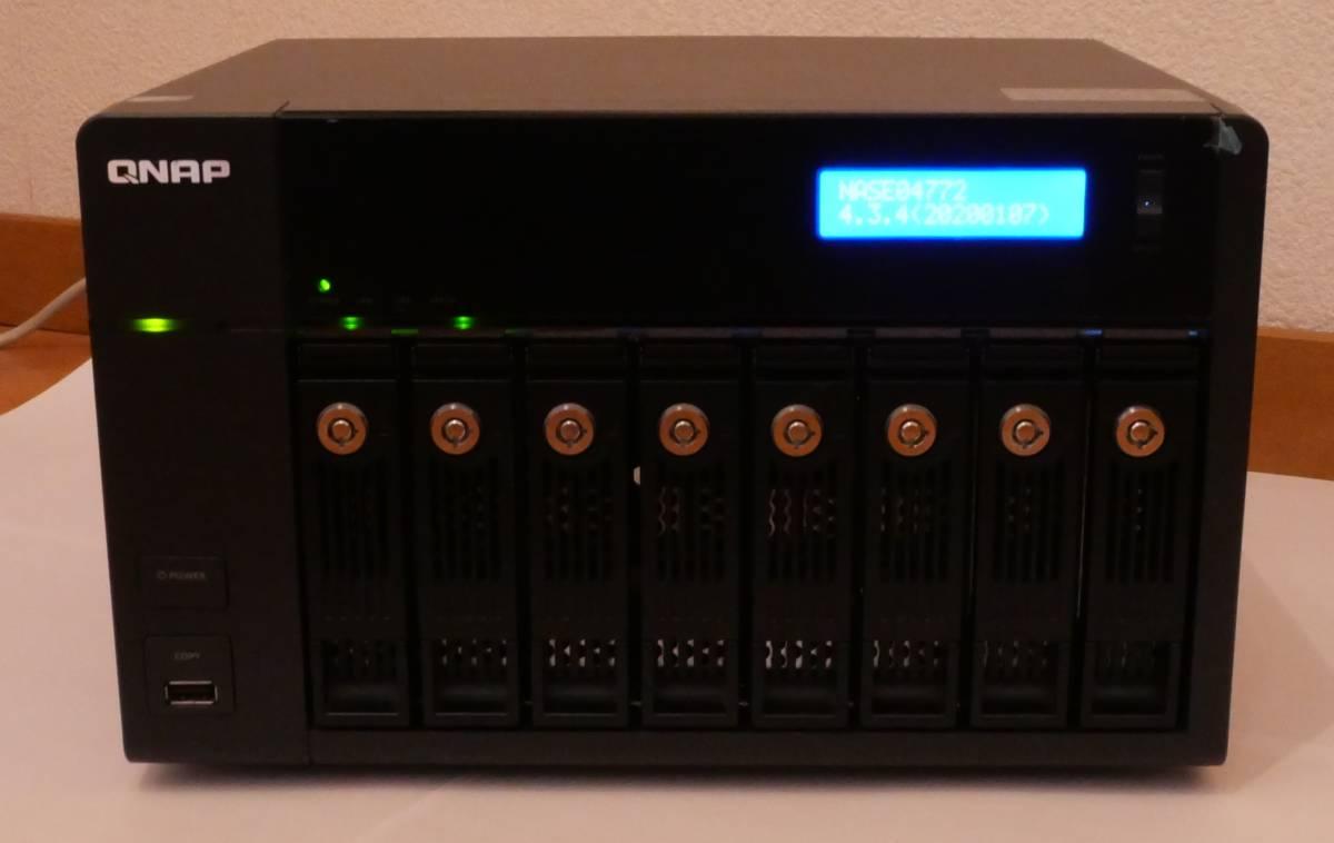 QNAP TS-869 Pro NASアプライアンス メモリ増設済