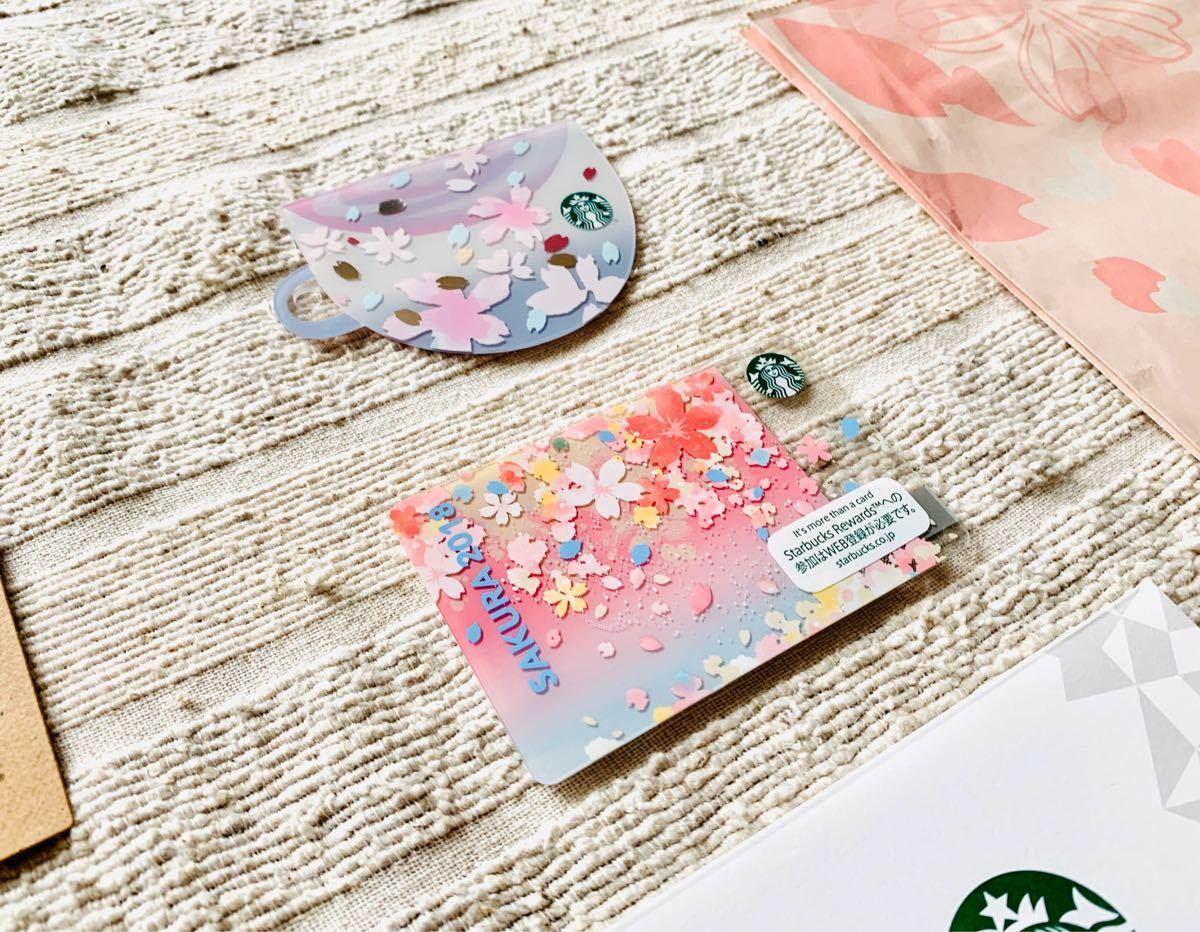 スターバックスカード_2018-19年度桜カード