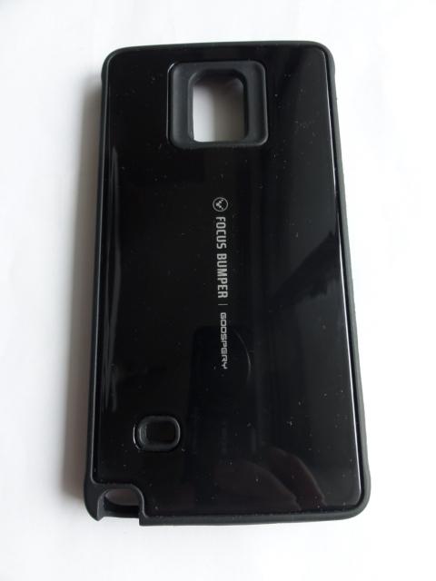 Samsung ギャラクシー Note 4 (docomo SC-01G と au SCL24 Galaxy Note Edge) 用高級感溢れる Mercury Focus bumper goospery ケース