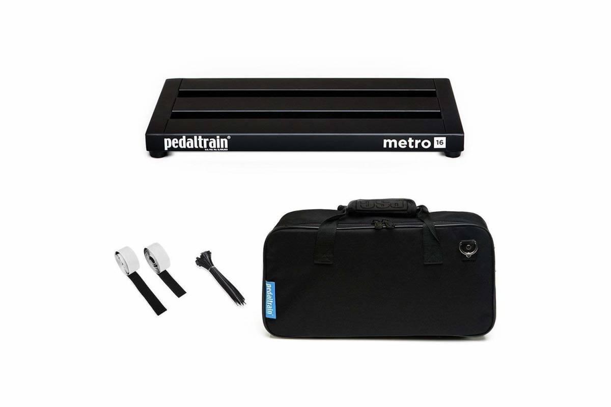 【新品・未使用】Pedaltrain Metro 16 SC ペダルトレイン メトロ 16 SC PT-M16-SC エフェクター用ペダルボード&ソフトケース付属モデル_画像1