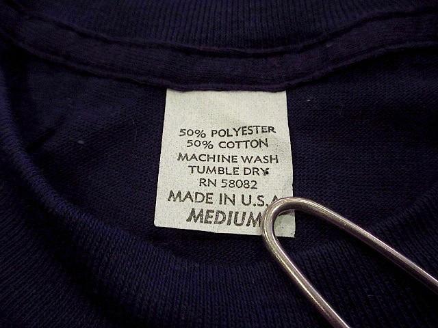 ビンテージ70's80's★DEADSTOCK Levi's アドバタイジングTシャツ 紺 Size M★200207s7-m-tsh-ot USA製デッドストックリーバイス半袖古着_画像4