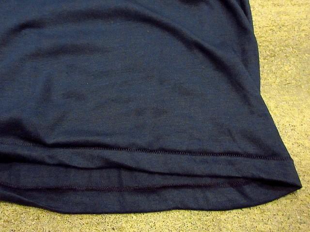 ビンテージ70's80's★DEADSTOCK Levi's アドバタイジングTシャツ 紺 Size M★200207s7-m-tsh-ot USA製デッドストックリーバイス半袖古着_画像6