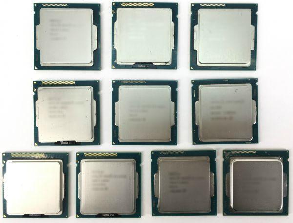 【10枚セット】★送料無料★BIOS起動確認済★デスクトップ用 CPU Intel G2030 ×1枚 SR163 3.00GHz 2コア 2スレッド ソケット FCLGA1155_画像1