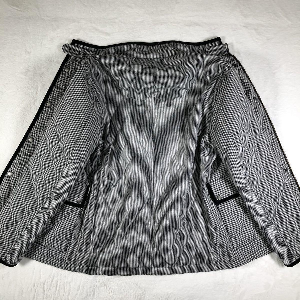 【ほぼ新品・極希少】バーバリーブラックレーベル キルティングジャケット 千鳥格子 Lサイズ BURBERRY BLACK LABEL アウター ブルゾン_画像10