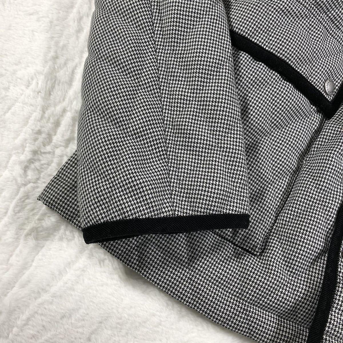 【ほぼ新品・極希少】バーバリーブラックレーベル キルティングジャケット 千鳥格子 Lサイズ BURBERRY BLACK LABEL アウター ブルゾン_画像3