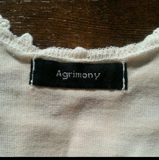 Agrimomy 七分丈カットソー 新品