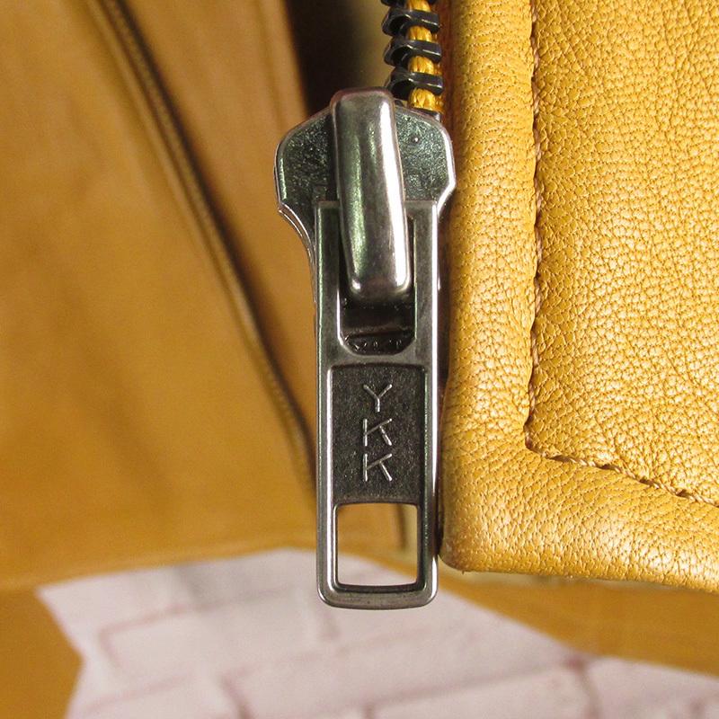 MAWKHJ13531 Earl Jean アールジーン ライダースジャケット P キャメル_画像5