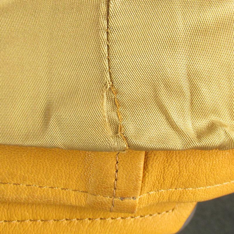 MAWKHJ13531 Earl Jean アールジーン ライダースジャケット P キャメル_画像7