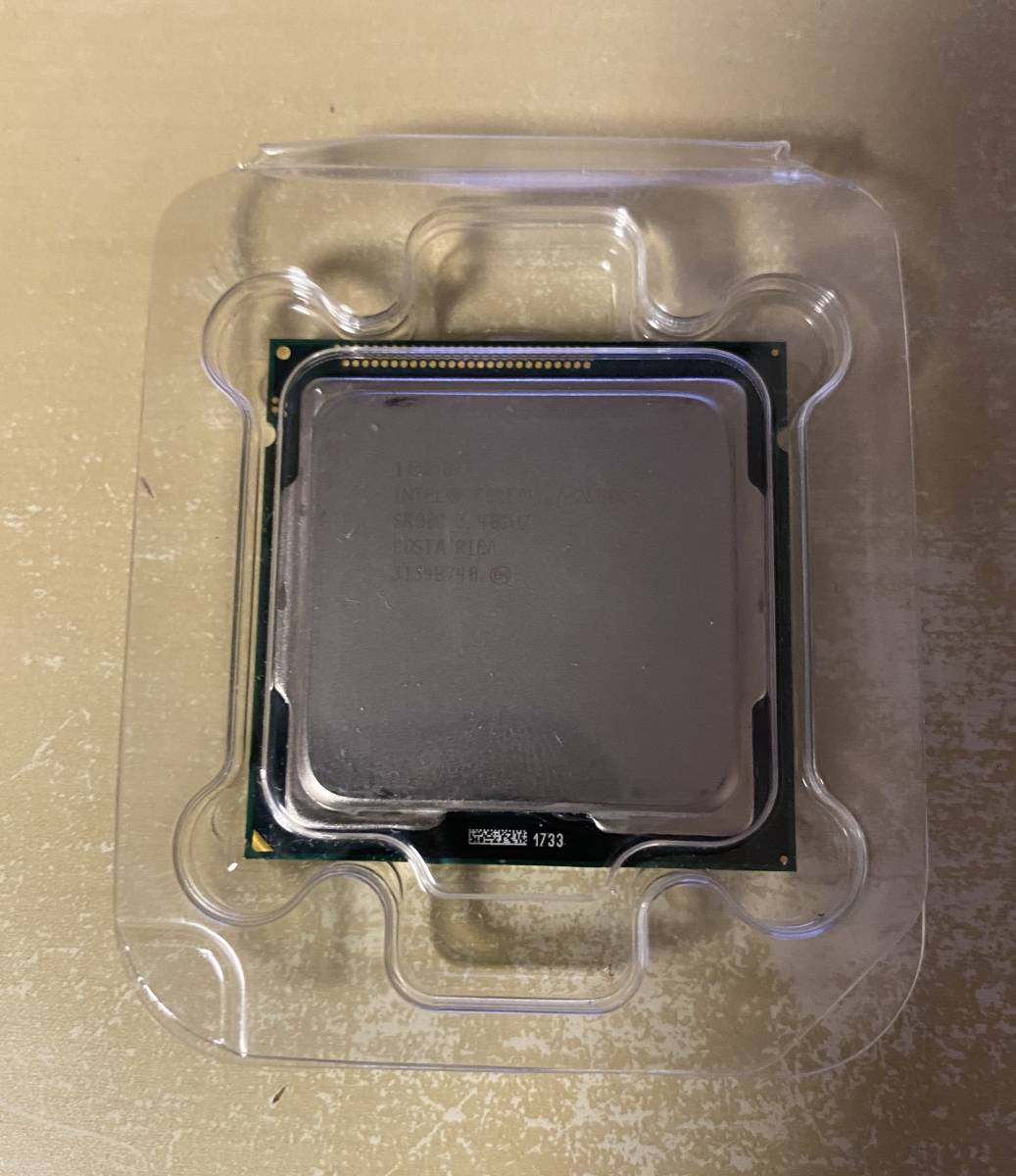 Intel CPU Core i7-2600K/3.4~3.8GHz/8MB Cache/LGA1155 95Wリテールクーラー未使用