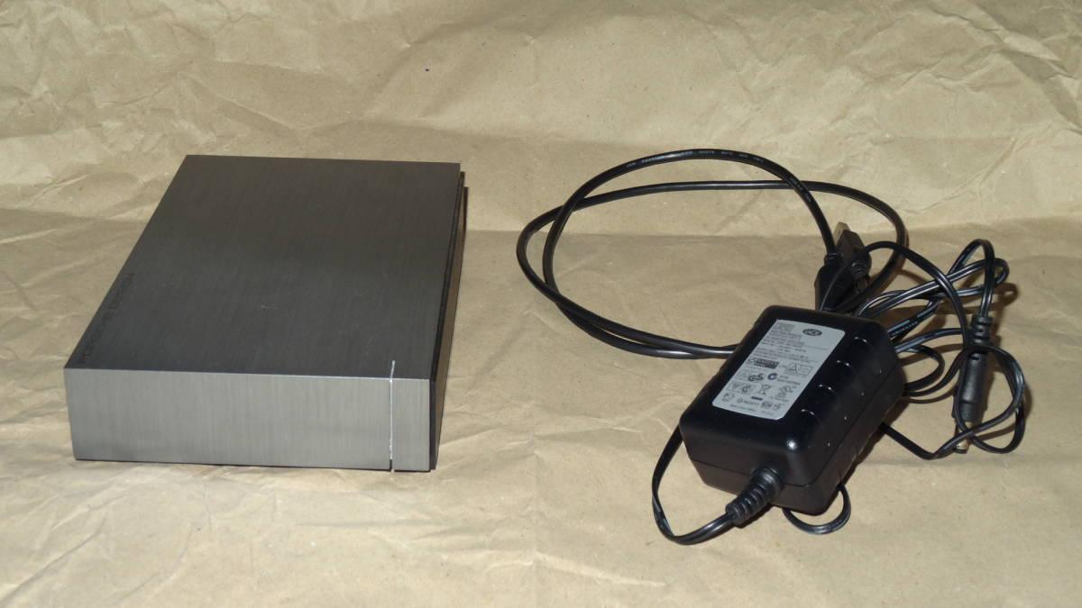 外付けHDD USB3.0 ST4000DM000 4TB 使用時間少ない 送料出品者負担