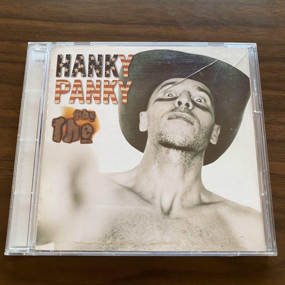 【国内盤・帯付】ザ・ザ / ハンキー・パンキー