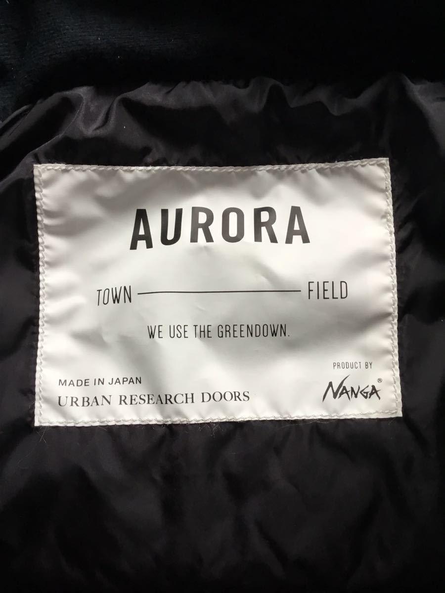 ナンガ オーロラ ダウンジャケット アーバンリサーチドアーズ ブラック 38サイズ_画像5