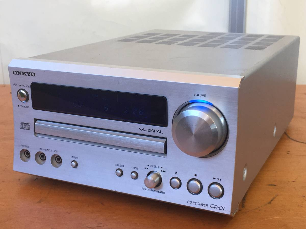 ONKYO CR-D1 デジタルアンプCDレシーバー FMチューナーアンプ 中古品_画像1