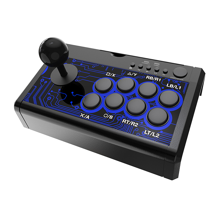 【DOBE】ゲームスティック PS4/PS3/Switch/Xbox-ONE(X,S)/Xbox-360/PC/Android対応 USB接続式 TURBO機能付