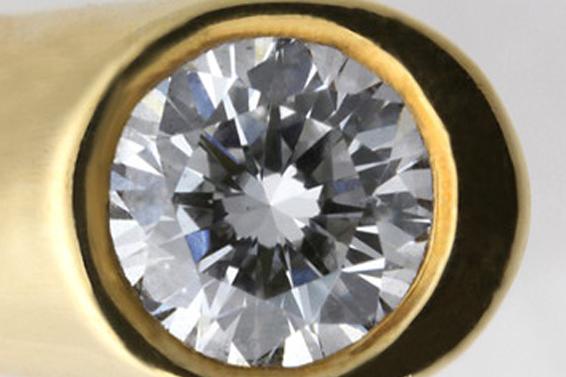 PR258360 推定 250ct 大粒 ボルダーオパール ダイヤ ペンダントヘッド K18 イエローゴールド _画像5